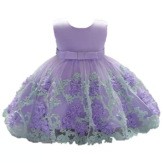 Moda Fina Baby Girl Party Wear Ball Gown For Birthday Girls Party