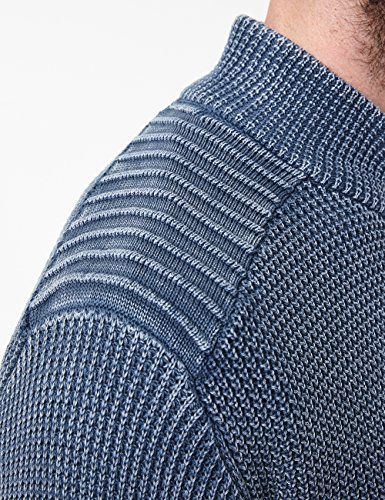 Knit bluenights Hombre Pioneer 533 Azul Para Jacket Cárdigan 7nwpxRdq8