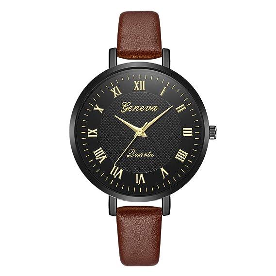 Bestow Gemius Army Racing Force Geneva Correa Reloj Militar Deporte Mens Tela Banda Reloj Negro(