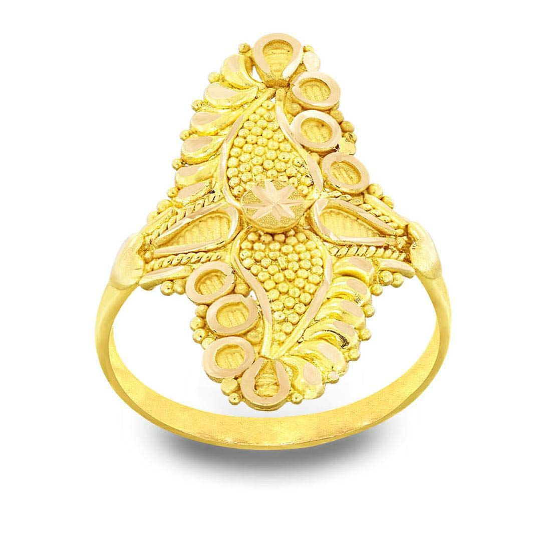 Buy Candere By Kalyan Jewellers 22KT Yellow Gold Ring for