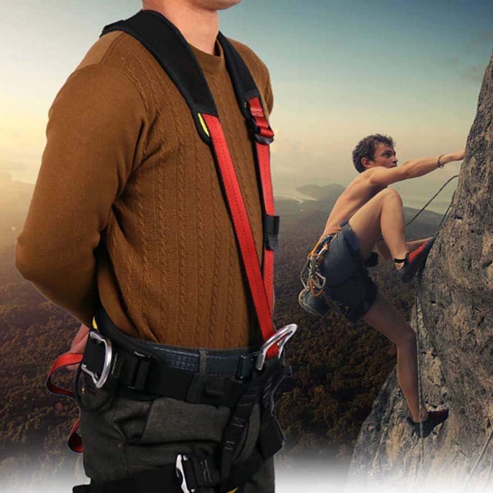 Adesign Arnés de escalada, Mujeres Hombre Niño medio cuerpo ...