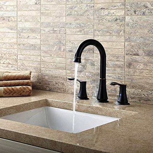 Buy widespread faucet with pop up drain