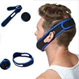 Anti Snoring Chin Strap, Anti Snoring Devices, Snoring Solution, Snore Relief Jaw Support Guard, Stop Snoring Sleep Aid that Stops Snoring & Eases Breathing For Men, Women Adjustable