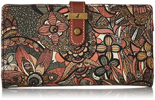Sakroots Women's Rae Slim Charging Wallet Sienna Spirit for sale  Delivered anywhere in USA