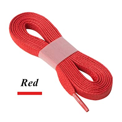 60399d0e9f0fd Amazon.com: Mandaartins 8Mm Width Cotton Shoe Laces Waterproof ...