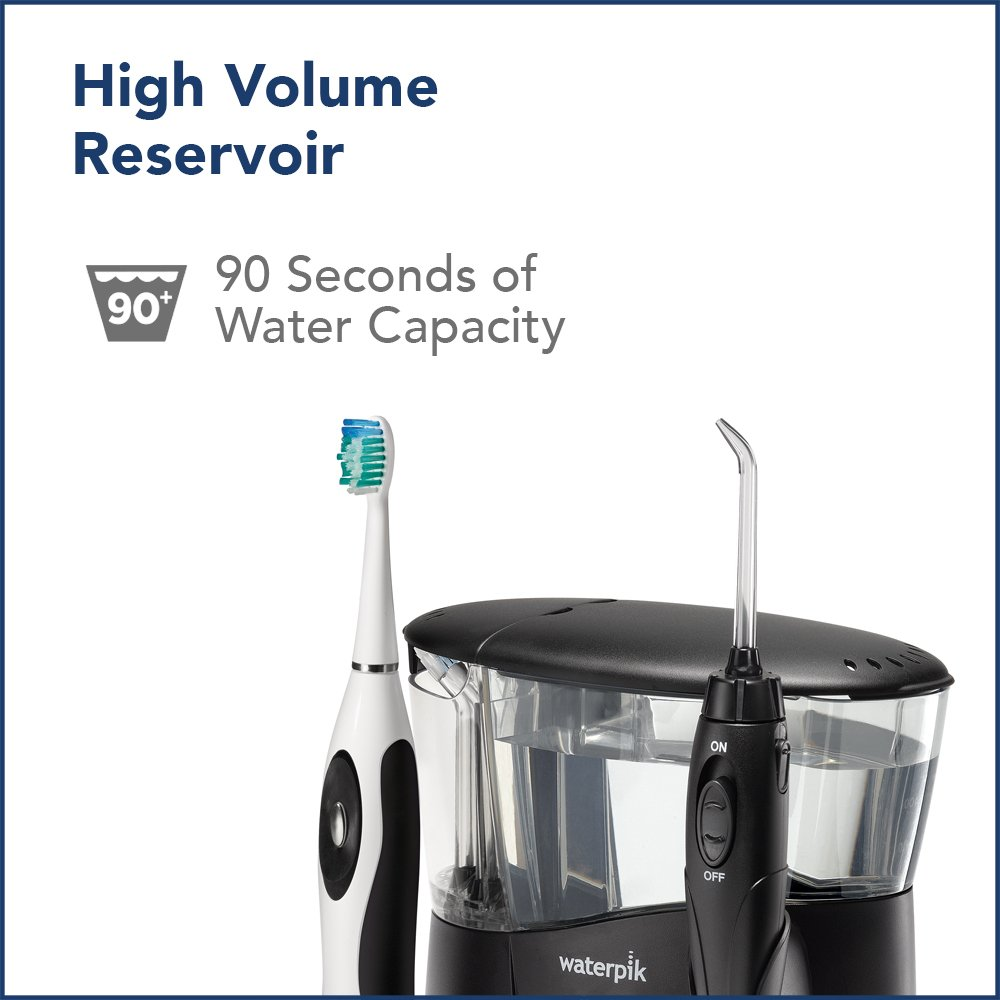 Waterpik WP-952 Complete Care 7.0 Water Flosser and Sonic Tooth Brush, Black by Waterpik (Image #8)