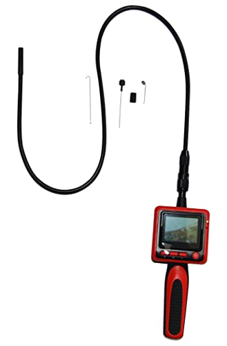 "Vividia Portable 9mm Digital Inspection Snake Camera with 2.4"" LCD Monitor"