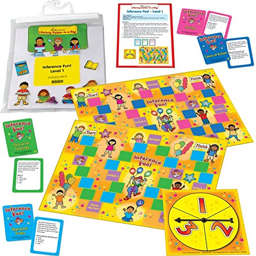 Really Good Stuff Inference Fun! Reading Comprehension Game Grades 2-3