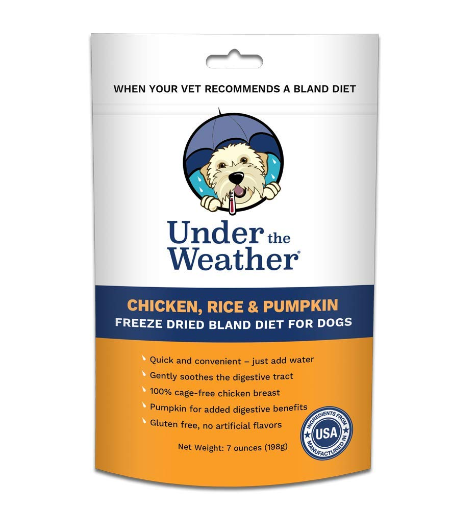 Under the Weather Pet Chicken and Rice with Pumpkin