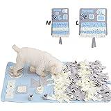 ROUTESUN DIFFLIFE Snuffle Mat Nosework Blanket Dog Training Mats Dog Feeding Mat Pet Activity Mat Great for Stress Release (M)