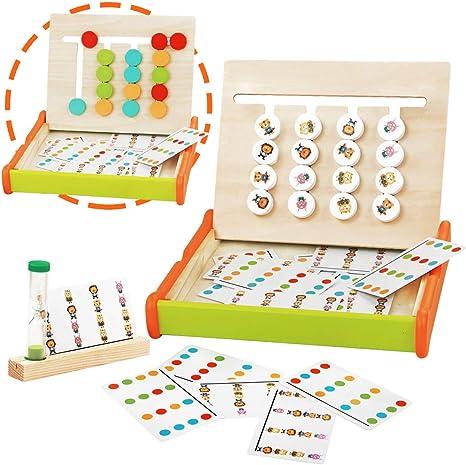 jerryvon Juegos Montessori Puzzle Juego Logica de Madera ...