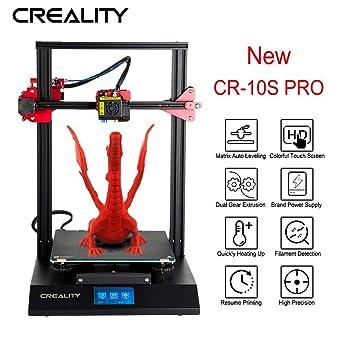 Amazon.com: Creality CR-10S PRO 3D Printer with 9 Upgrade ...