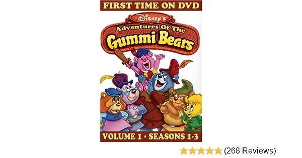 Amazon.com: Adventures of the Gummi Bears, Vol. 1 - Seasons ...