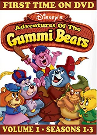 Amazon Adventures of the Gummi Bears Vol 1 Seasons