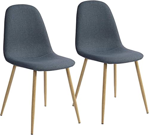 FurnitureR Set of 2 Velvet Dining Chair