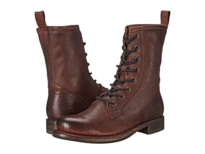 Edwardian Shoes & Boots Frye Womens Jenna Combat Combat Boot $169.99 AT vintagedancer.com