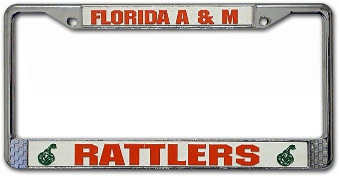 Rico Industries NCAA Unisex Standard Chrome License Plate Frame