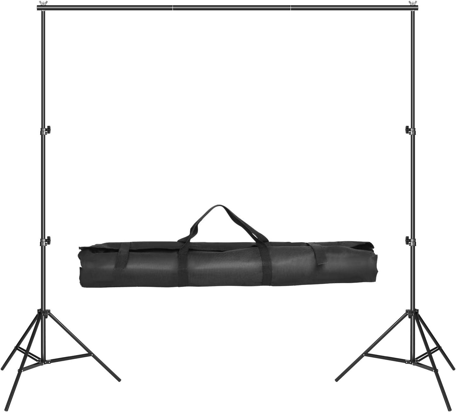 Schwarzer Hintergrund Tragbarer professioneller Fotostudio-Bildschirm Starke Verarbeitungsqualit/ät vollst/ändig ges/äumter Rand langlebig maschinenwaschbar Fotografie-Hintergrund aus 100/%