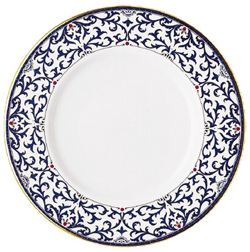 (Lenox Royal Scroll Gold Banded Bone China 9-Inch Accent)