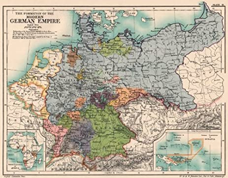Amazon germany formation of 19th century german empire germany formation of 19th century german empire africa pacific colonies 1902 old gumiabroncs Choice Image