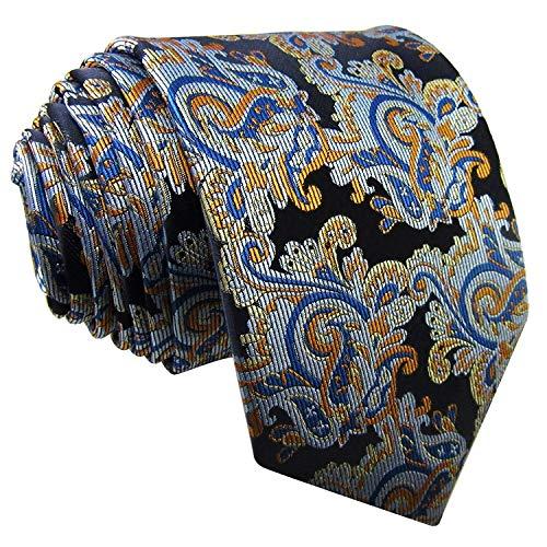Shlax & Wing Floral Multicolor Tie Silk Wedding Party New Design Handmade