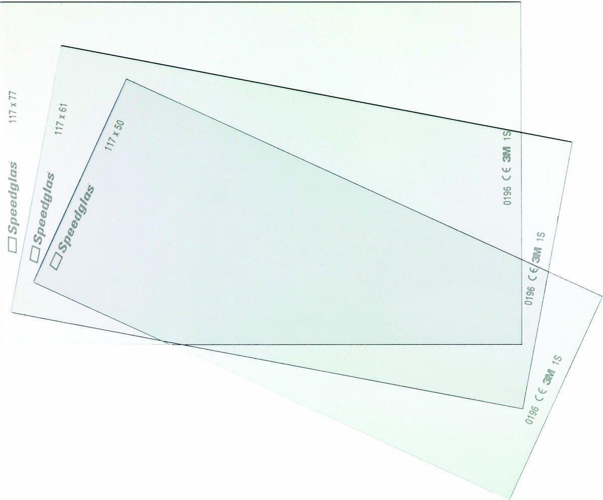 9000X Inside Prot Plate pkt 5 3M Speedglas