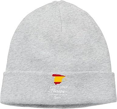 Unisex de invierno sombreros gorro de lana de I Don t Need Therapy – sólo tienes que ir a España: Amazon.es: Ropa y accesorios