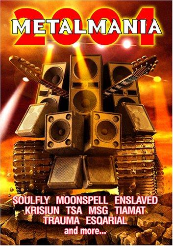 DVD : Max Cavalera - Metalmania 2004 (With CD)