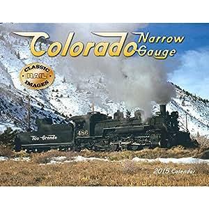 2017 Colorado Narrow Gauge Deluxe Wall Calendar