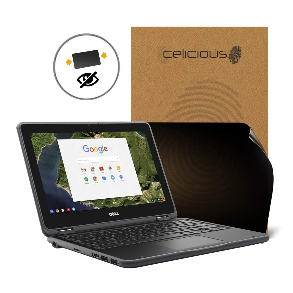 Celicious Matte Anti-Glare Screen Protector Film Compatible with Dell Chromebook 11 3189 Pack of 2