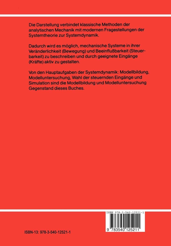 Mechanische Systeme Eine Einfuhrung In Die Analytische Mechanik Und Systemdynamik Hochschultext Amazon De Hiller M Fremdsprachige Bucher