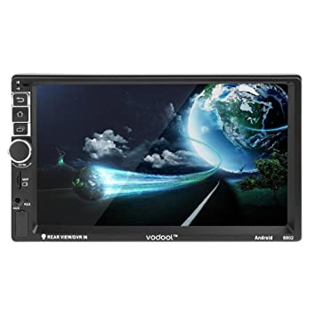 Starnearby VODOOL 7 in 2Din Android coche GPS Navegador Bluetooth 1080P MP5 reproductor + cámara