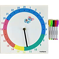 french'n'green©   reloj infantil 24h Montessori   ideal