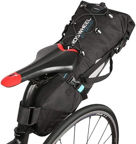 10L Bolsa de sillín de bicicleta, resistente al agua anti-tearing ...
