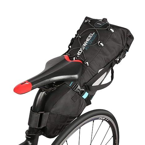 10L Bolsa de sillín de bicicleta, resistente al agua anti ...