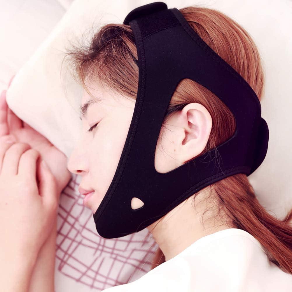 Dilatador nasal correa para la barbilla, ayuda para dormir ...