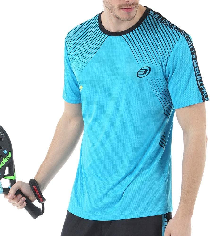 Bull padel Camiseta BULLPADEL IMOTEP Azul: Amazon.es: Deportes y ...
