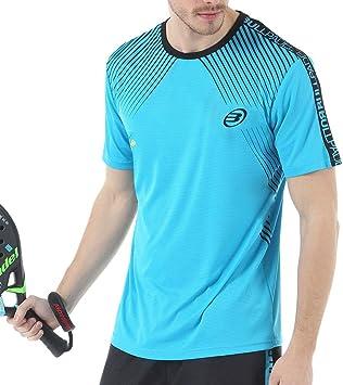 Bullpadel Camiseta IMOTEP Azul: Amazon.es: Deportes y aire libre