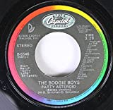 the boogie boys 45 RPM party asteroid / runnin' from your love