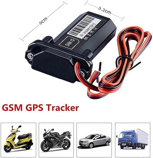 Mini impermeable vehículo Car Tracker Localizador GPS de seguimiento y vigilancia GSM spy dispositivo de control de dispositivo de rastreo de tiempo real global coche motocicleta bicicleta antitheft apoyo gps/glonass/Galileo/brújula: Amazon.es: Electrónica