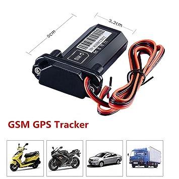 Mini impermeable vehículo Car Tracker Localizador GPS de seguimiento y vigilancia GSM spy dispositivo de control