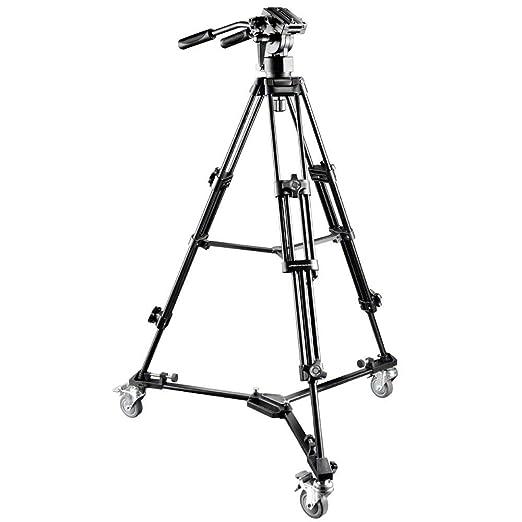 2 opinioni per Walimex 15882 Black tripod- tripods (4.8 kg, Metal, Black)