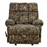 Best Big Man Recliners - Dorel Living Real Tree Camouflaged Rocker Recliner Review
