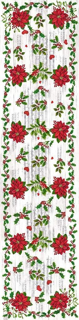 Pack 2 Manteles Individuales Vinilo Navidad Vilber Flor Color 1