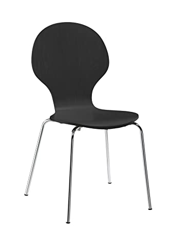dhp shell bentwood chairs black set of 2 black bentwood chairs