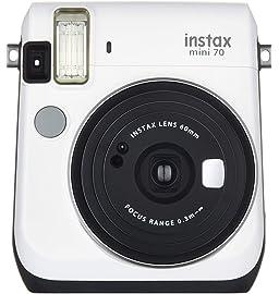 Fujifilm Instax Mini 70 Camera  Moon White