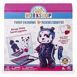 Build-A-Bear Workshop - Furry Fashions - Sleepy Kitty