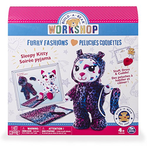 Build-A-Bear Workshop - Furry Fashions - Sleepy Kitty from Build A Bear