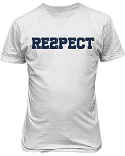 16d8751ac Amazon.com: Nike Jordan Men's Derek Jeter Respect Crew Neck T-Shirt ...