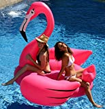 Kangaroo 10167 Gigantic Flamingo Pool Float;78-Inch Inflatable Raft